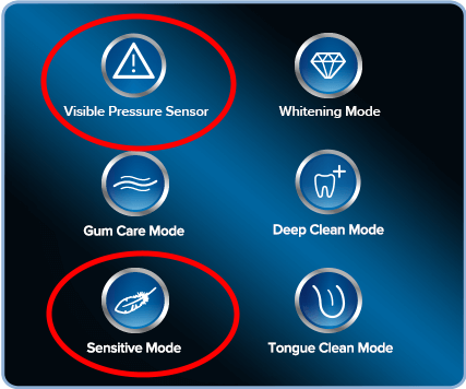 oral-b-sensitive-modes